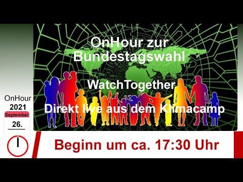 26.09.2021, 17:30 Uhr: OnHour zur Bundestagswahl 2021!