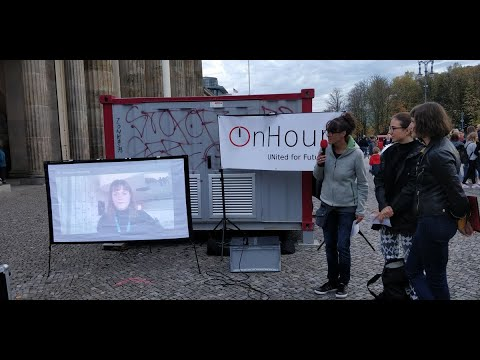 """18.10.2019, Berlin, Vereinte Nationen: """"OnHour für Menschenrechte!"""""""
